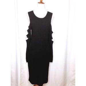 Pixley Womens Medium Black Dress